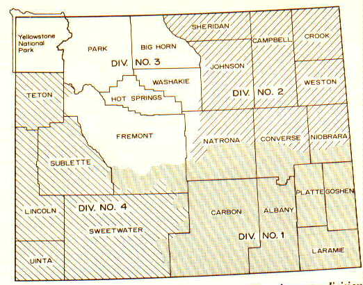 Wyoming Water Divisions